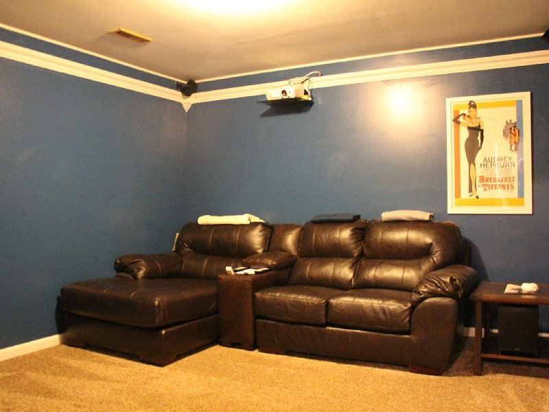 Movie Room! It also boasts a two person bean bag that is cozy!