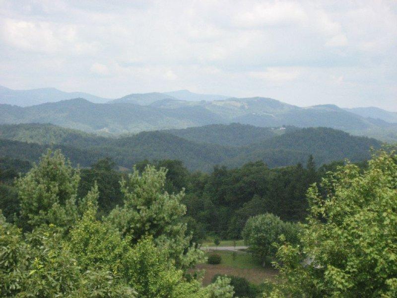 Blue Ridge Getaway Close to Linville Falls, the Parkway and Grandfather Mountain, alquiler de vacaciones en Jonas Ridge