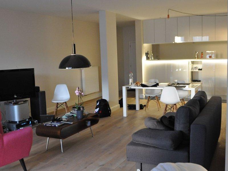 new bright studio in the centre of Antwerp free WiFi, holiday rental in Nijlen