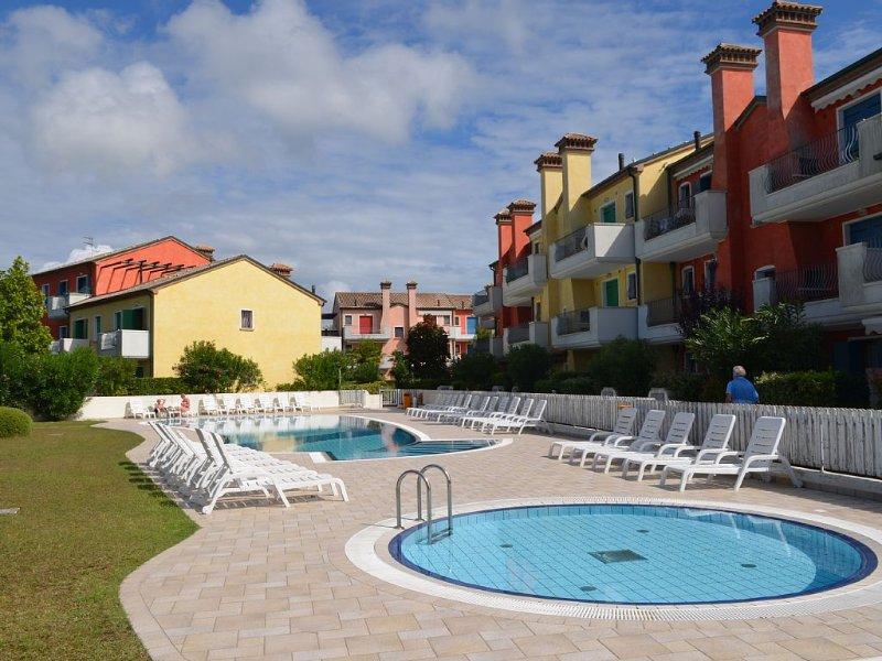 Fewo Ginestre in Cavallino  familenfreundlich  strandnah Pool Garten  5 Personen, casa vacanza a Lido di Jesolo