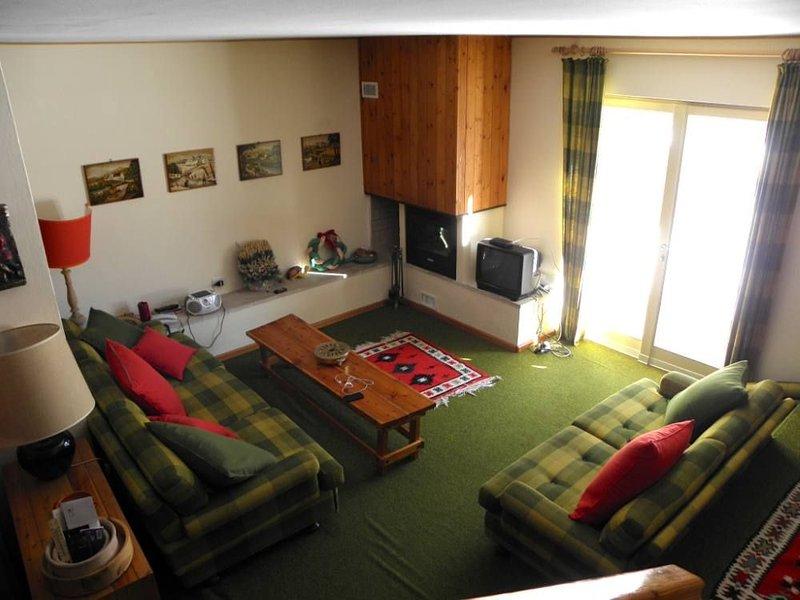 Accogliente appartamento davanti al Brenta su due piani con giardino, vakantiewoning in Carisolo