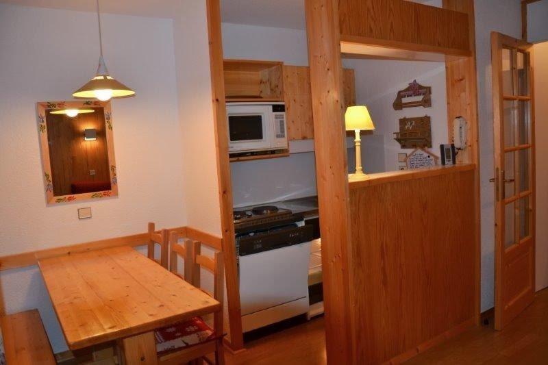 Courchevel village : Appartement T2 agréable - accès skis aux pieds, location de vacances à Courchevel