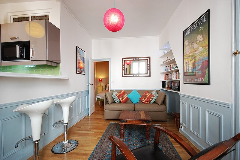 Notre Dame - Latin Quarter : Cosy 1 BR Apartment in Paris Centre, location de vacances à Paris