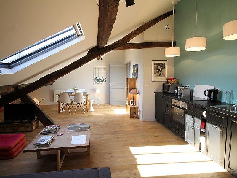 Grand appartement tout-confort, à proximité du château de Versailles, vacation rental in Guyancourt