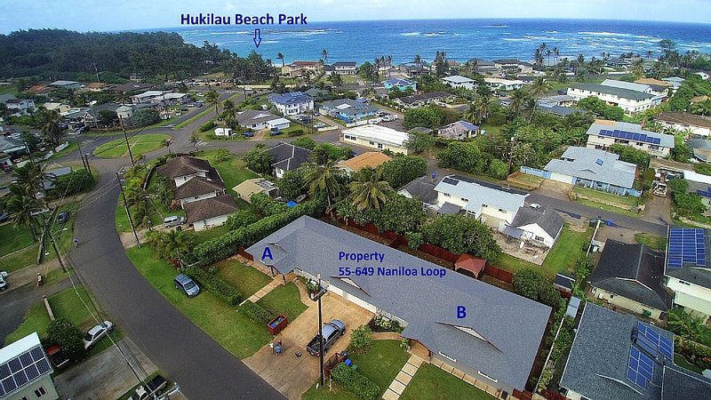 Brand New 4 Bedroom, With A/C, Steps To Hukilau Beach, alquiler de vacaciones en Laie