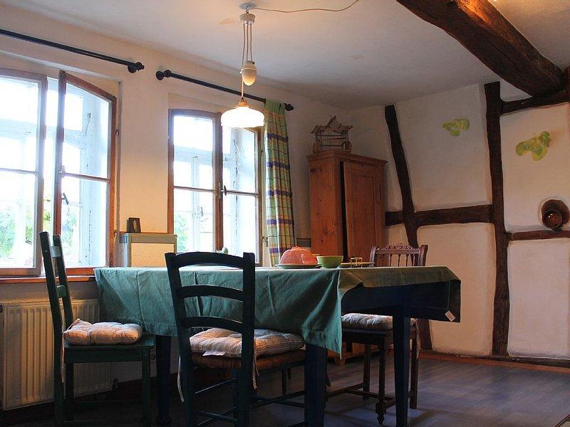 Gemütliche Wohnung Im Glantal mit Garten, am Glan-Blies-Radweg, Draisinenstrecke, vacation rental in Kaiserslautern