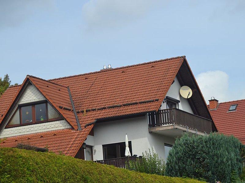 Ferien im Thüringer Wald - 4 **** Ferienwohnung, vacation rental in Thuringia