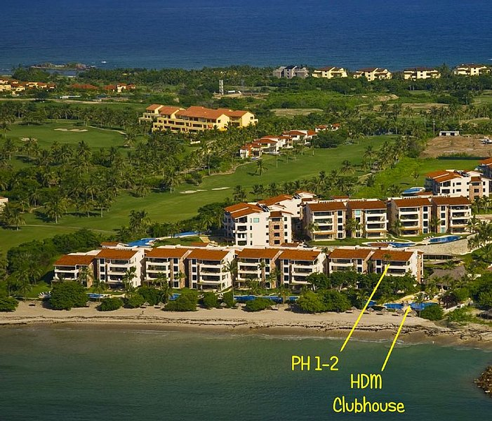 Spectacular Views, Beachfront Bldg 1 Penthouse Hacienda De Mita, vacation rental in Punta de Mita