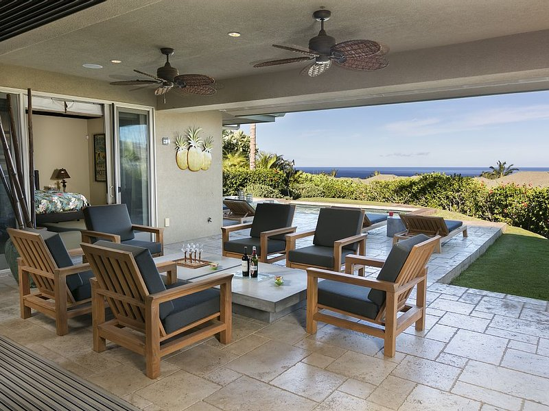 Waiulaula Villa Ocean Views - Open to Government Approved Inter-Island Travelers, alquiler vacacional en Kawaihae