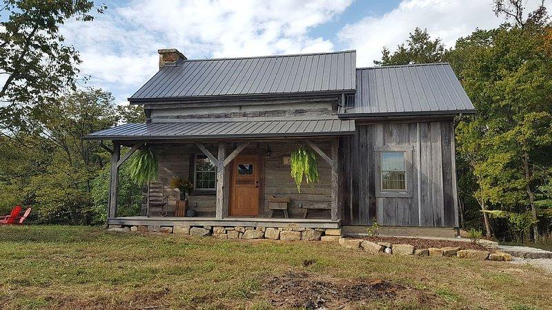Antique Blockhaus gebaut ist Anfang 1800 mit allen modernen Annehmlichkeiten restauriert