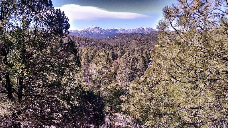Time to relax & enjoy the view from the deck or explore Ruidoso., vacation rental in Ruidoso