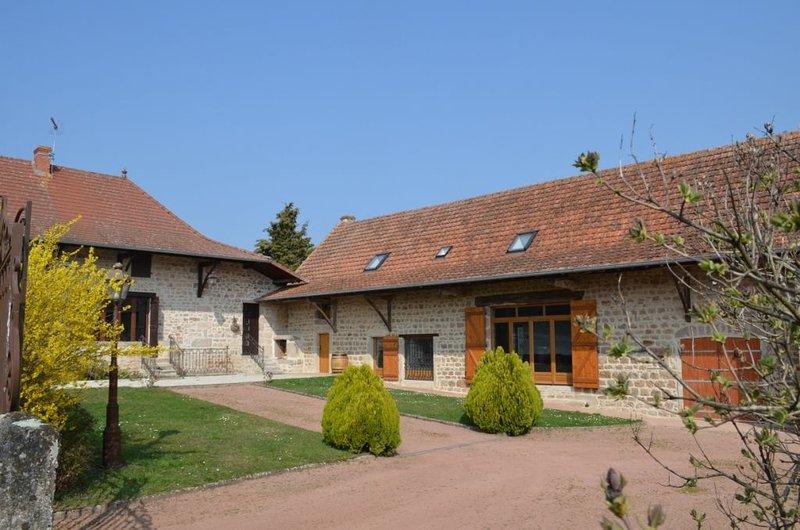 Votre gite en Bourgogne sud, dans le bocage Charollais, calme et reposant, holiday rental in Bois-Sainte-Marie
