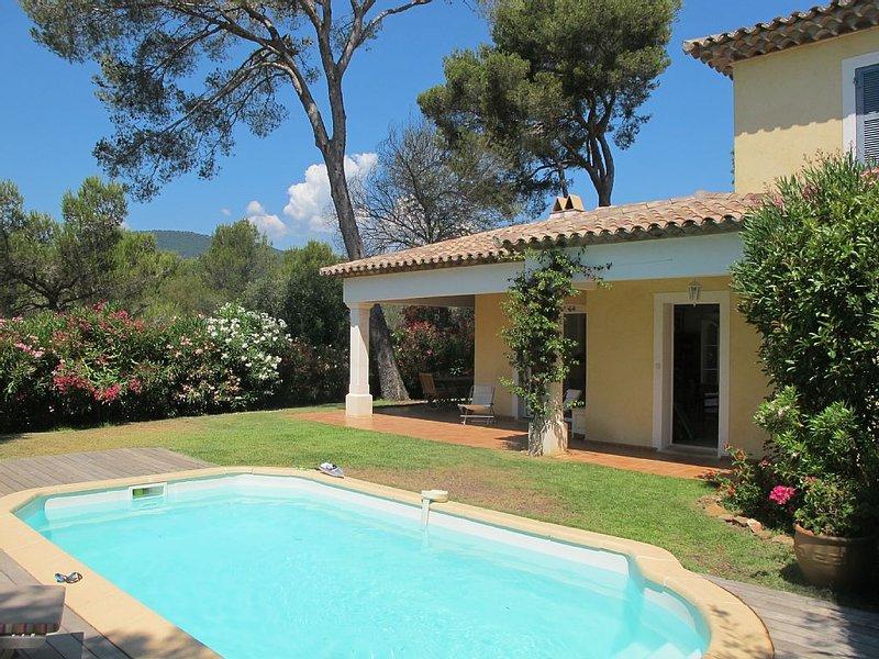 Belle villa avec piscine proche plages et commerces, holiday rental in La Croix-Valmer