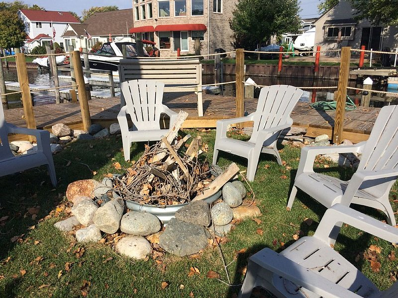 Tell some fish tales around the fire pit after a successful day of fishing    :)