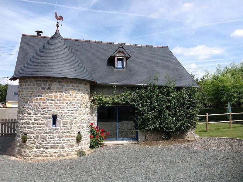 Gîte de charme classé meublé de tourisme 3 étoiles pour 4 à 6 personnes, location de vacances à Quettreville-sur-Sienne