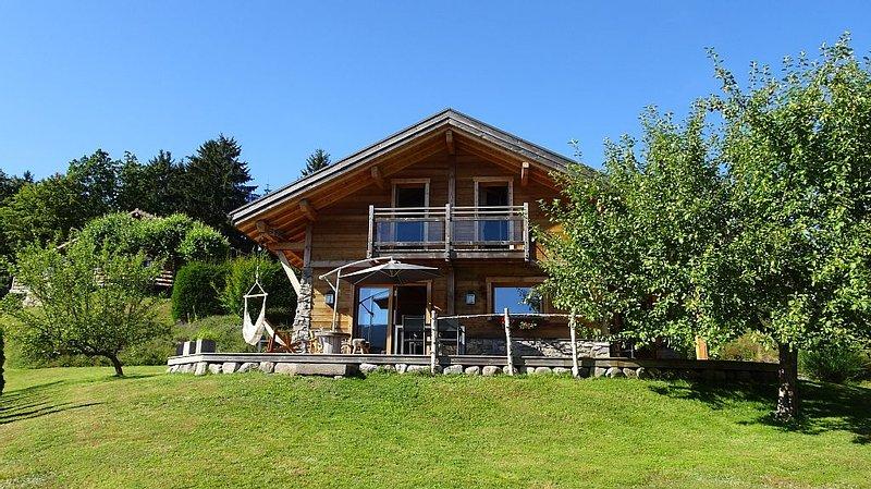 Chalet du Meix-Haut  7 personnes - sauna - classé 4 étoiles, vacation rental in Saulxures-sur-Moselotte