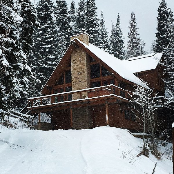 Views, Privacy, Hot Tub, Sauna, 5-Star Reviews-Ski View Haus has it ALL!, holiday rental in Steamboat Springs
