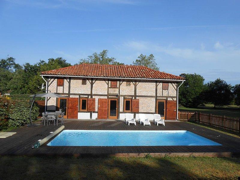 'La Bergerie' Meublé de Tourisme***proche Mimizan Biscarosse 4 à 6 personnes, holiday rental in Commensacq