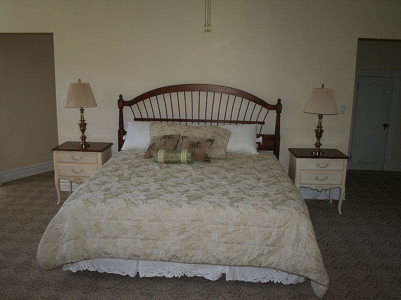 Master Bedroom is total comfort.