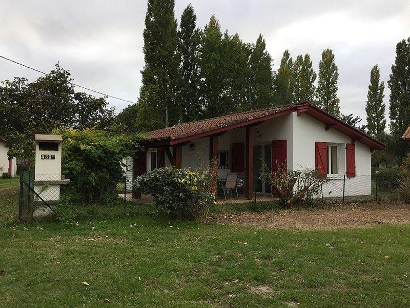 Landes-Maison entre OCEAN et LAC pour 4  personnes, holiday rental in Pontenx-les-Forges