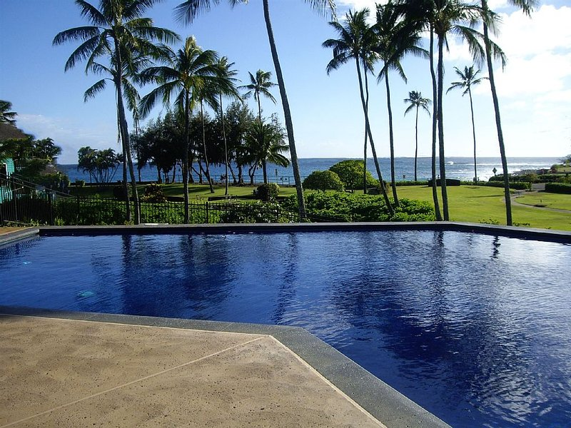 Large 2BR, 2.5BA Ocean View Kauai Paradise!  Top Reviewed!, Ferienwohnung in Koloa