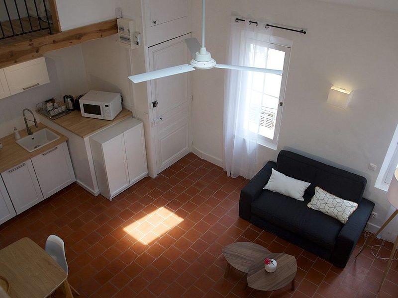 Appartement dans le centre historique de La Ciotat, location de vacances à La Ciotat