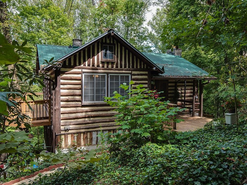 Old World Swiss Cabin Nestled In The Woods, vacation rental in Knoxville