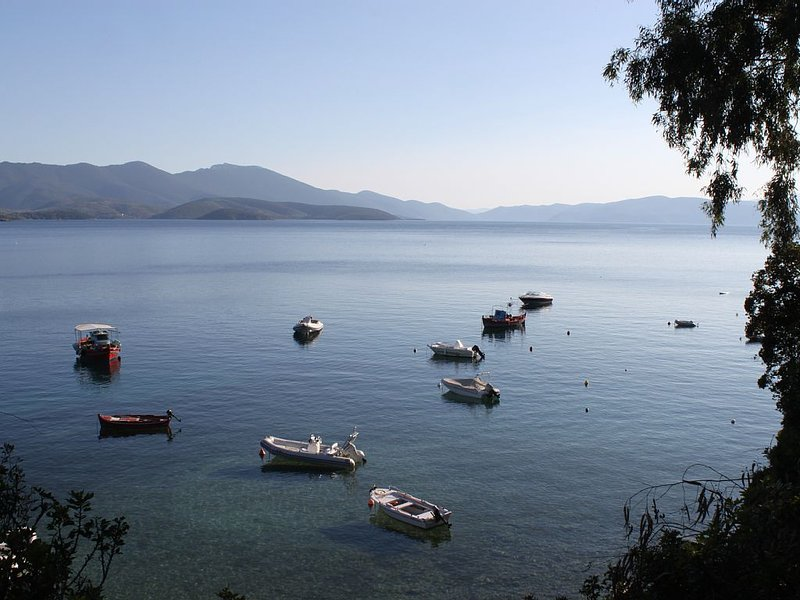 Horton Bay, looking towards the southern end of the Gulf of Volos