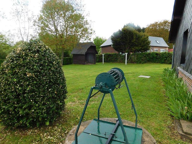 Gîte la caloge : maison normande, location de vacances à Montroty