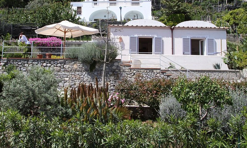 A Stunning Villa On The Amalfi Coast With Sea Views And Large Private Gardens, Ferienwohnung in Conca dei Marini