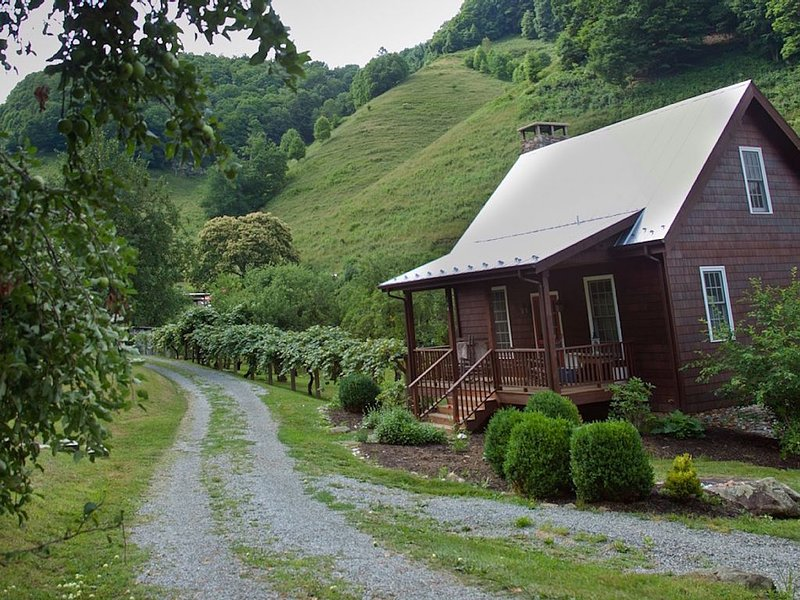 Orchard Cottage * Old Orchard Creek Farm - Hiking, Views, Family Friendly, location de vacances à Lansing