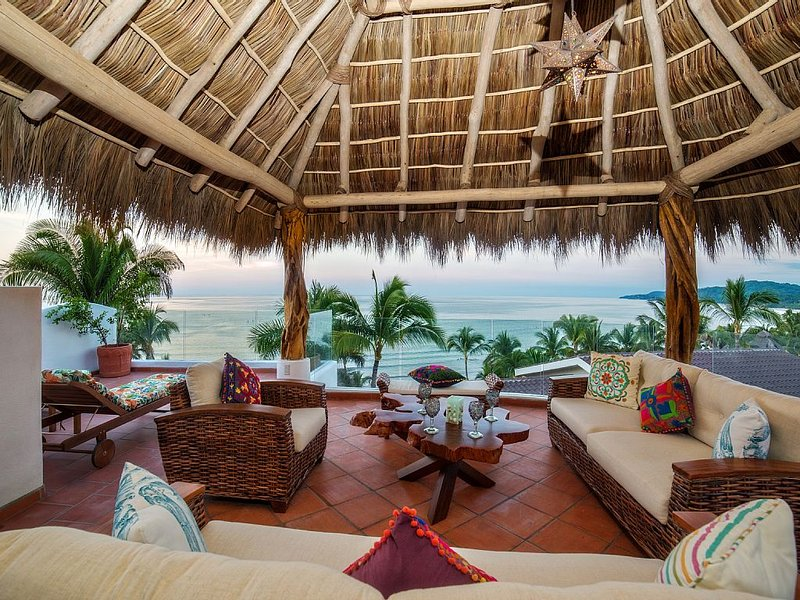 HGTV masterpiece beach property, holiday rental in Sayulita