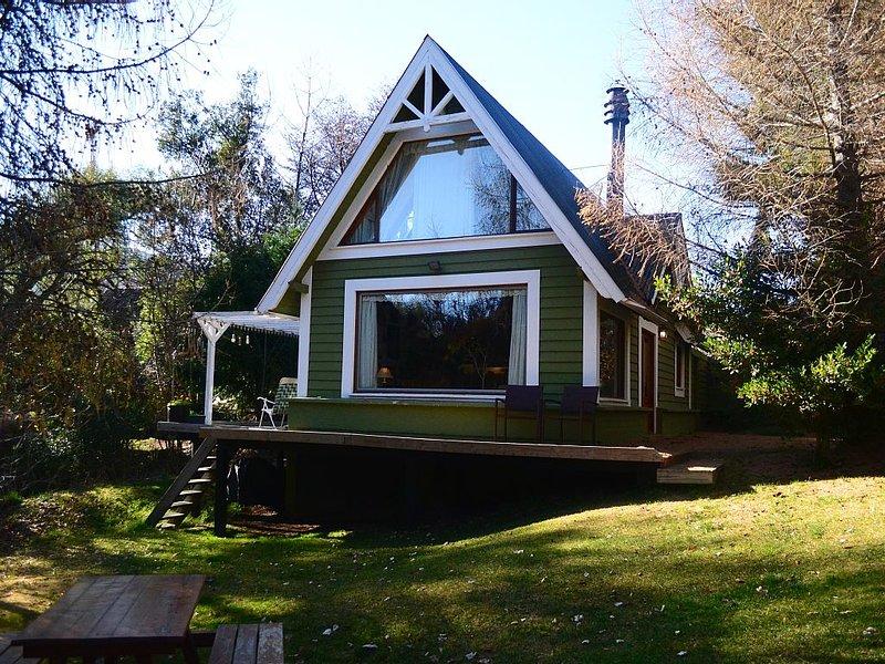 Cabaña en el bosque, en el Lago Lolog, alquiler de vacaciones en San Martín de los Andes