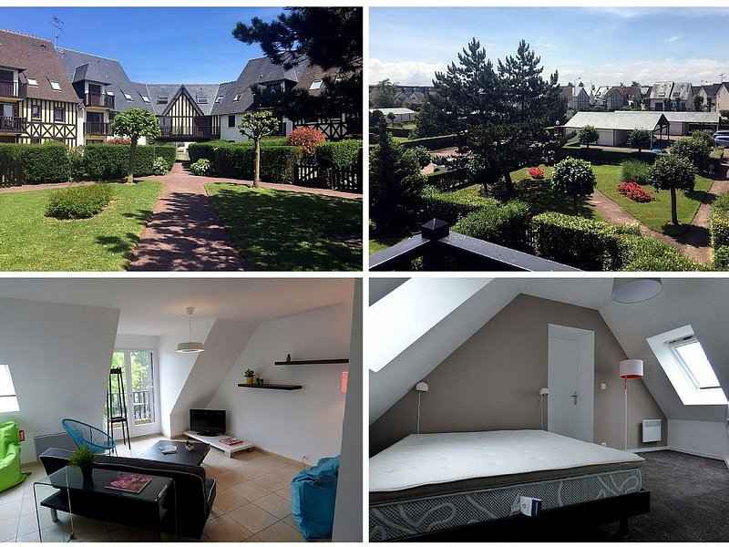 NORMANDIE CABOURG 4 PIECES 8 PERSONNES 90M2 MODERNE 500M PLAGE ET CENTRE-VILLE, vacation rental in Cabourg