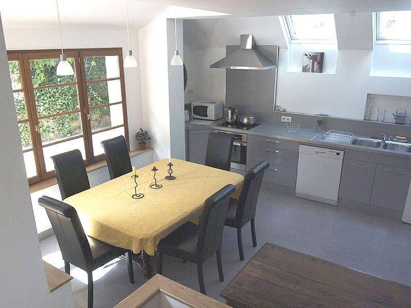 Gîte de charme 5 couchages, parc, dans village authentique proche Fontainebleau, vacation rental in Seine-et-Marne