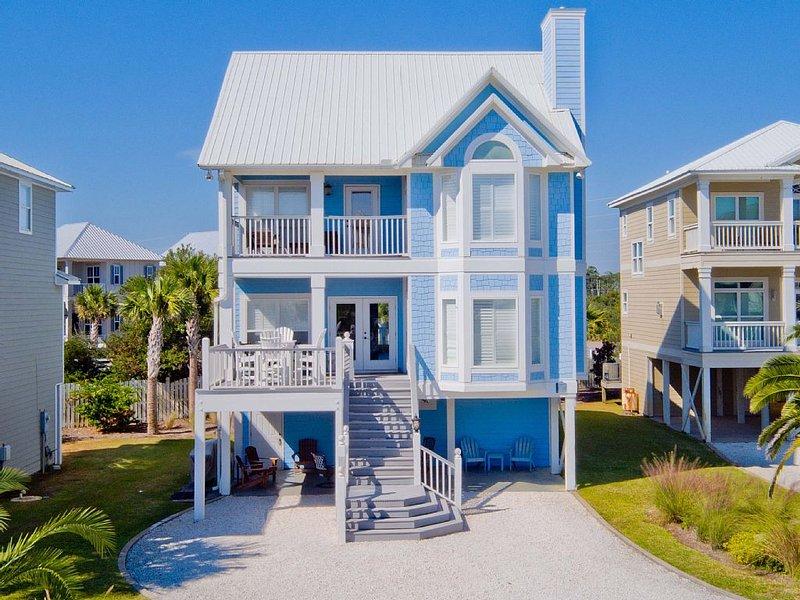 Gorgeous, 7BD beach home in gated community! Pool, tennis, vacation rental in Orange Beach