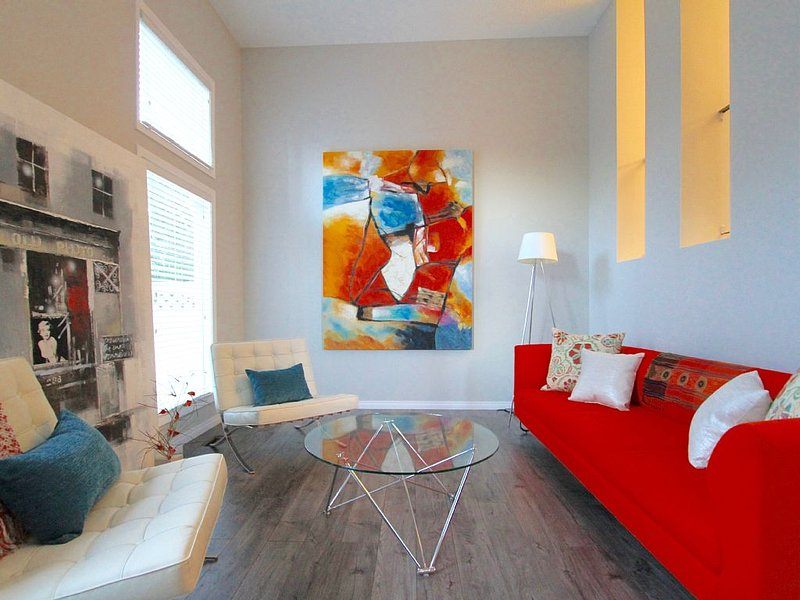 Large Contemporary Townhouse, 45 minutes to the Foothills, quick Downtown access, vakantiewoning in Calgary