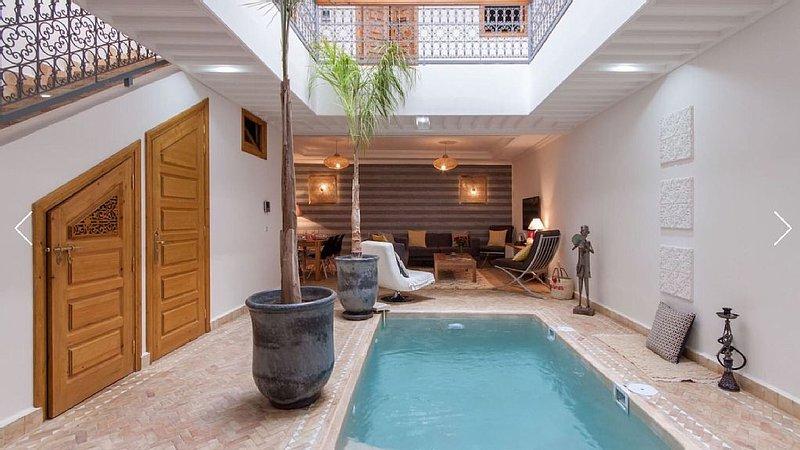 Riad Melilo avec piscine chauffée (en exclusivité), Ferienwohnung in Marrakesch