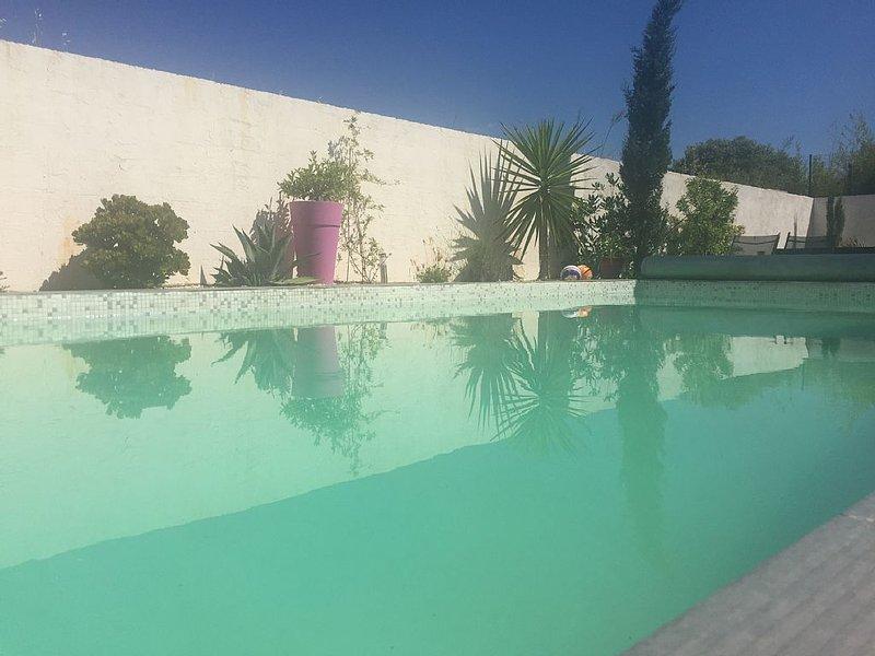 Chambre d'Hôtes dans villa à 15 minutes des plages de MARSEILLAN-CAP D'AGDE, aluguéis de temporada em Pinet