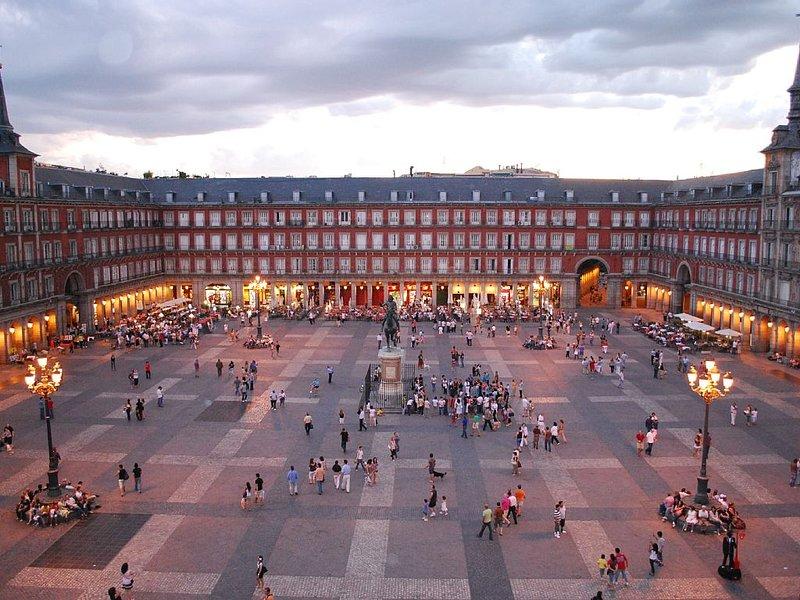 Plaza Mayor, 10min. à pied de l'appartement.