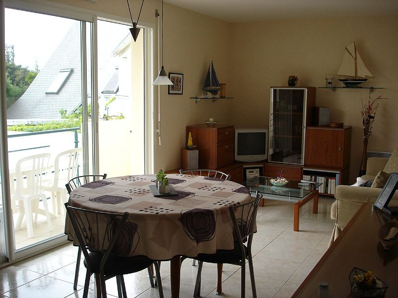 Appartement  2 chambres à 2 pas des commerces, du port et de la plage, location de vacances à Piriac-sur-Mer