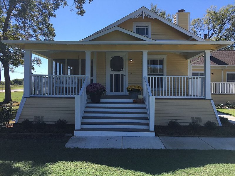 Front Stairs & Porch