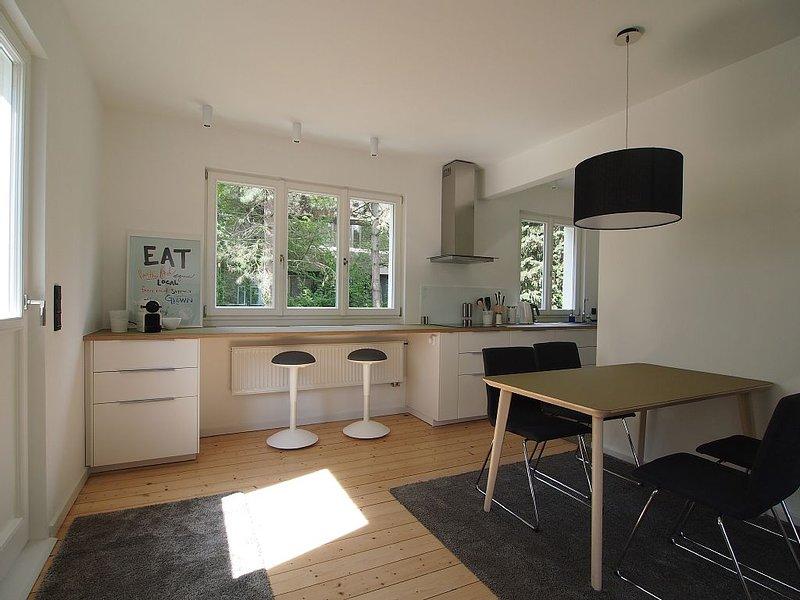 Bauhaus mit Dachterrasse und Garten am Rhein, location de vacances à Bonn