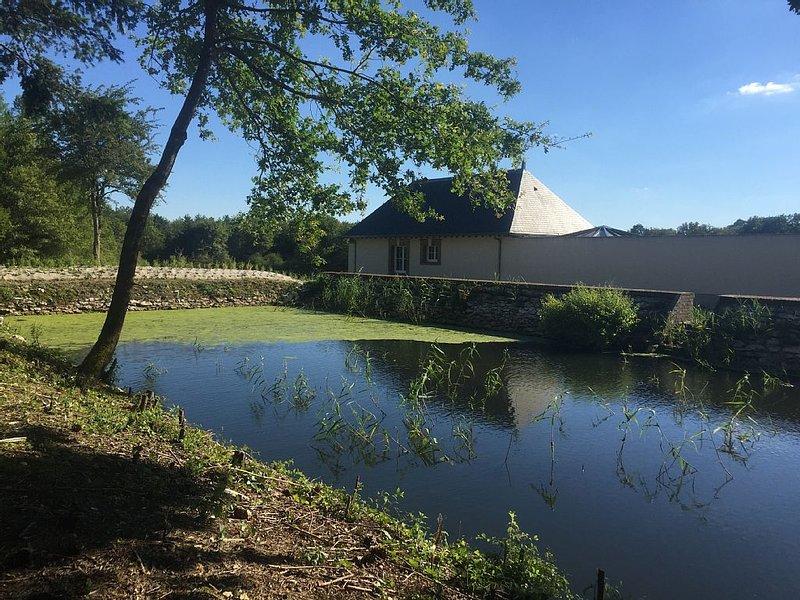Charmant pavillon en Sologne dans un cadre forestier et reposant, vacation rental in Berry