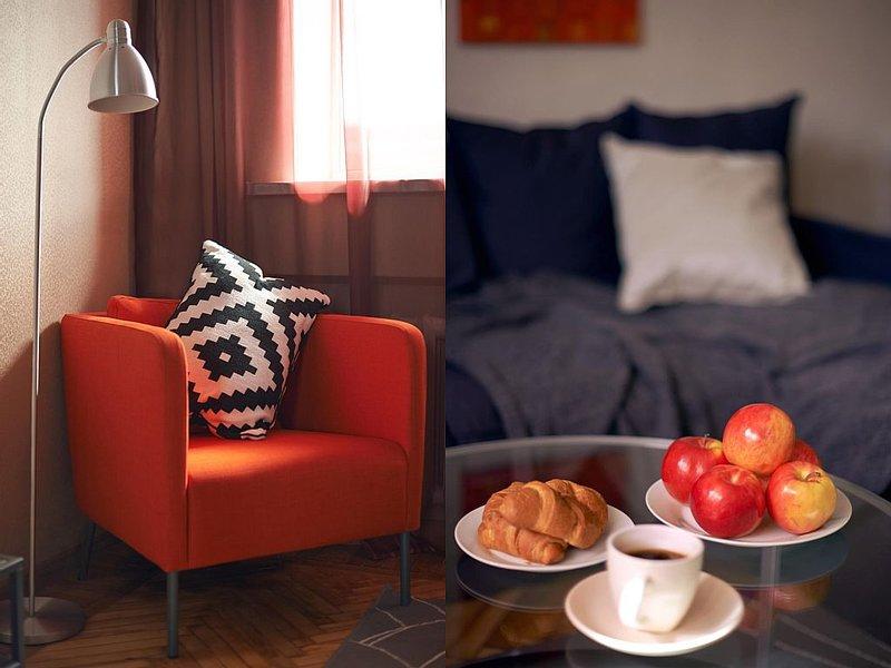 1 bedrooms flat in the city center at Girshmana 19!, location de vacances à Oblast de Kharkiv
