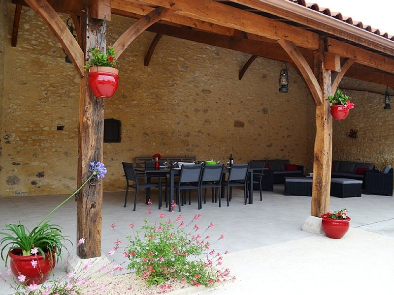 Gite 8 personnes - la forge - Monségur, vacation rental in Condezaygues