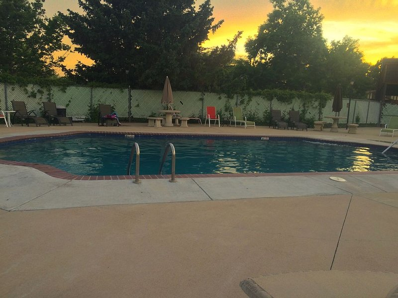 The Pool. My favorite time!