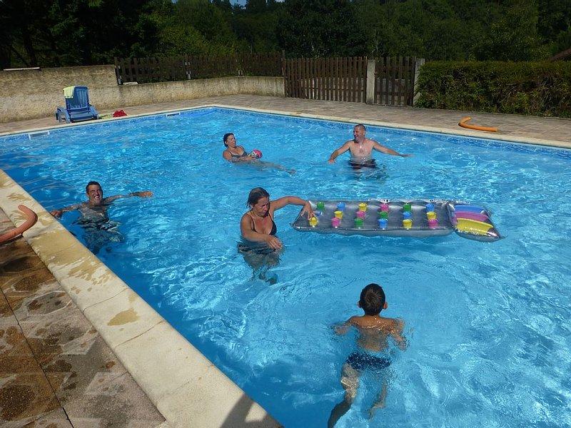 chalet Gythion ou Varkisa pour 4 à 6 personnes, avec piscine., holiday rental in Puy-l'Eveque