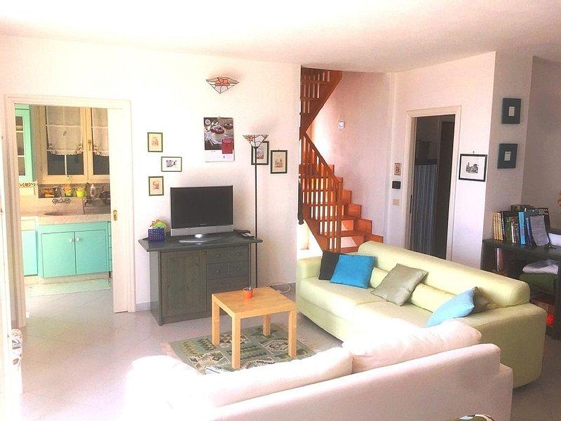 Sestri Levante - Villa con terrazza splendida vista, location de vacances à Bruschi