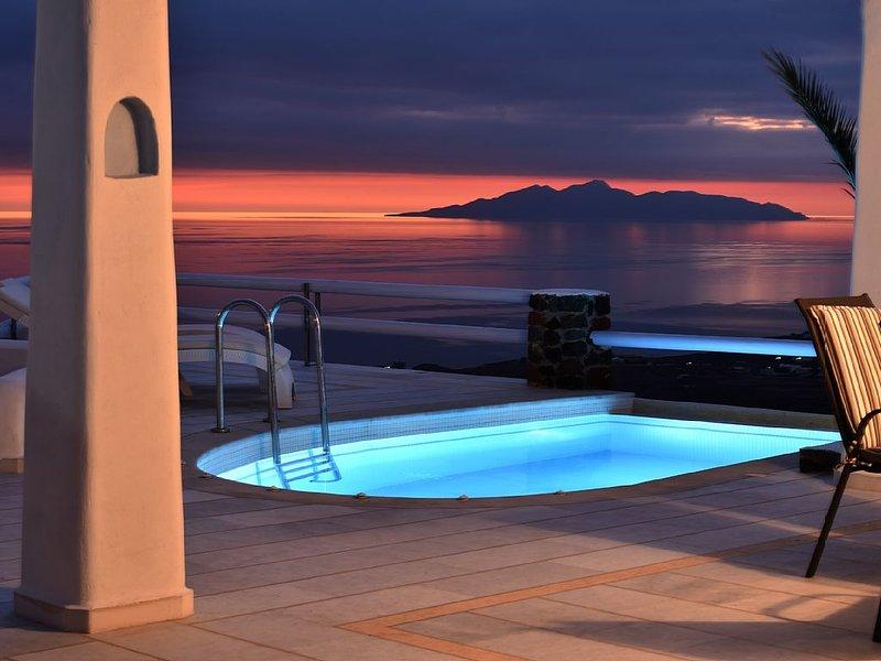 Villa Sagini, 3 bedroom, location de vacances à Vourvoulos